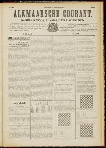 Alkmaarsche Courant 1909-06-25