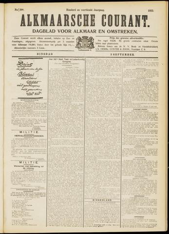 Alkmaarsche Courant 1912-09-03
