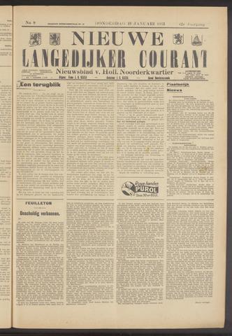 Nieuwe Langedijker Courant 1933-01-19