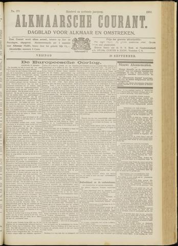 Alkmaarsche Courant 1914-09-18