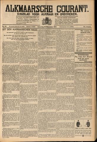 Alkmaarsche Courant 1934-11-24
