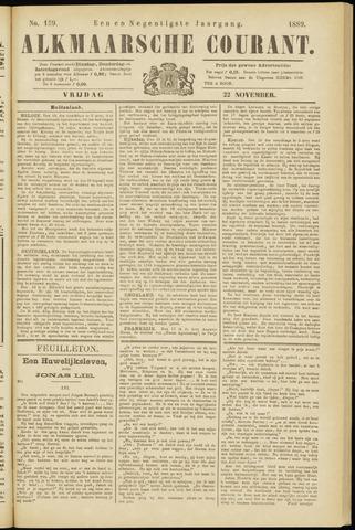 Alkmaarsche Courant 1889-11-22