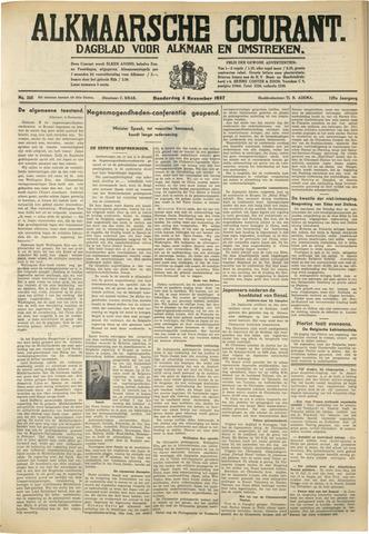 Alkmaarsche Courant 1937-11-04