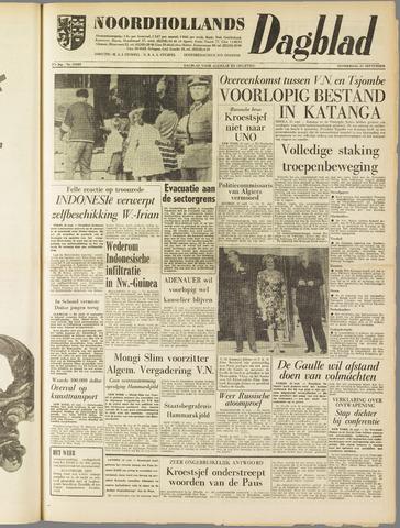Noordhollands Dagblad : dagblad voor Alkmaar en omgeving 1961-09-21