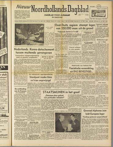 Nieuw Noordhollandsch Dagblad : voor Alkmaar en omgeving 1952-05-10
