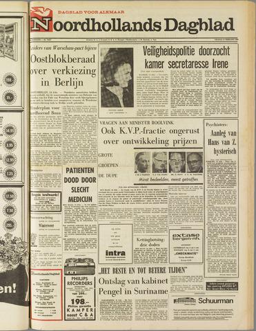Noordhollands Dagblad : dagblad voor Alkmaar en omgeving 1969-02-14