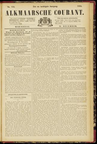 Alkmaarsche Courant 1884-12-24