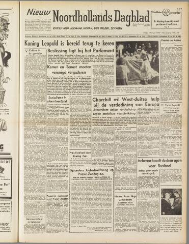 Nieuw Noordhollandsch Dagblad : voor Alkmaar en omgeving 1950-03-17
