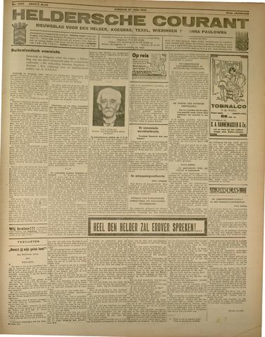Heldersche Courant 1933-06-27