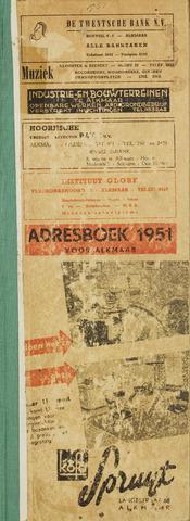 Adresboek van Alkmaar 1951-01-01