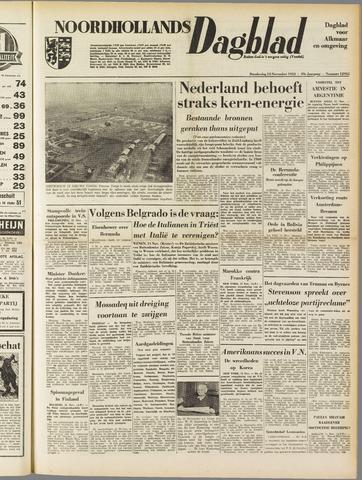 Noordhollands Dagblad : dagblad voor Alkmaar en omgeving 1953-11-12