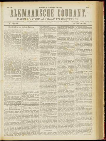 Alkmaarsche Courant 1918-09-03