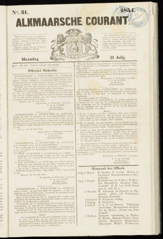 Alkmaarsche Courant 1854-07-31