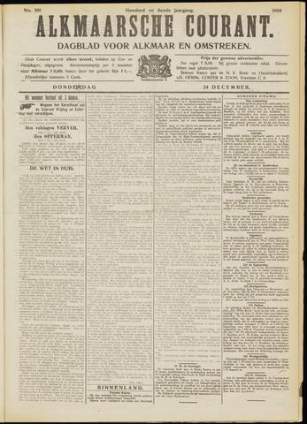 Alkmaarsche Courant 1908-12-24