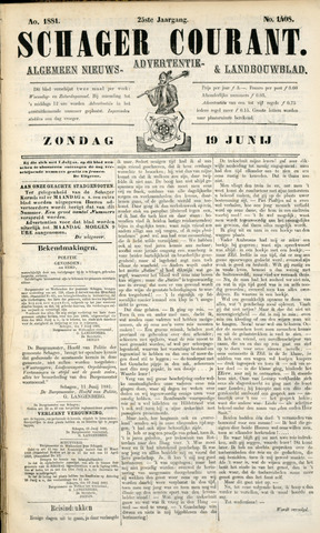 Schager Courant 1881-06-19