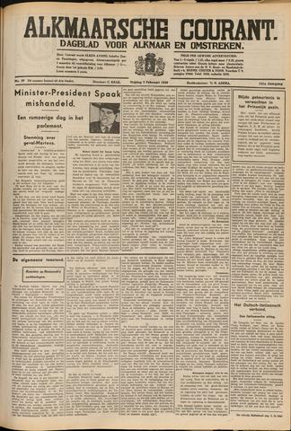 Alkmaarsche Courant 1939-02-03