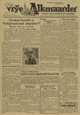 De Vrije Alkmaarder 1946-02-07