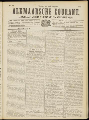 Alkmaarsche Courant 1908-07-30