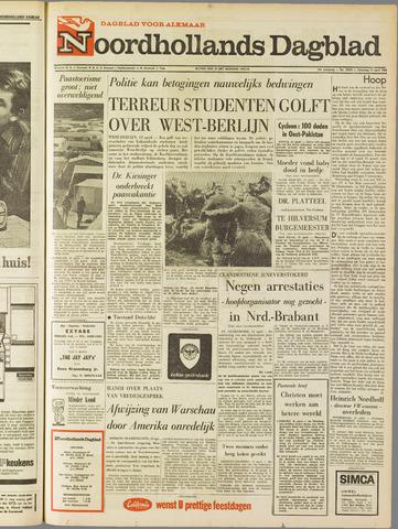 Noordhollands Dagblad : dagblad voor Alkmaar en omgeving 1968-04-13