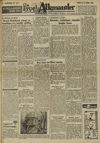 De Vrije Alkmaarder 1949-04-26