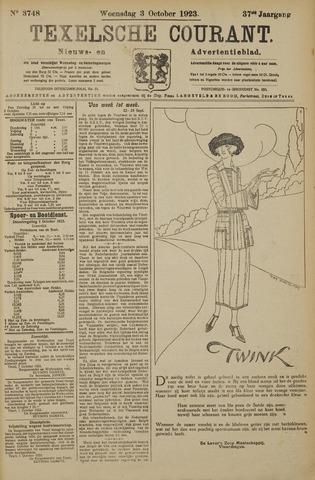 Texelsche Courant 1923-10-03
