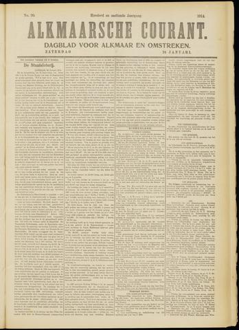 Alkmaarsche Courant 1914-01-24