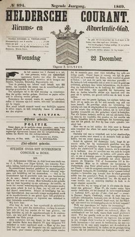 Heldersche Courant 1869-12-22