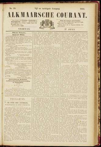 Alkmaarsche Courant 1883-07-27