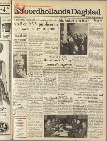 Noordhollands Dagblad : dagblad voor Alkmaar en omgeving 1963-05-28