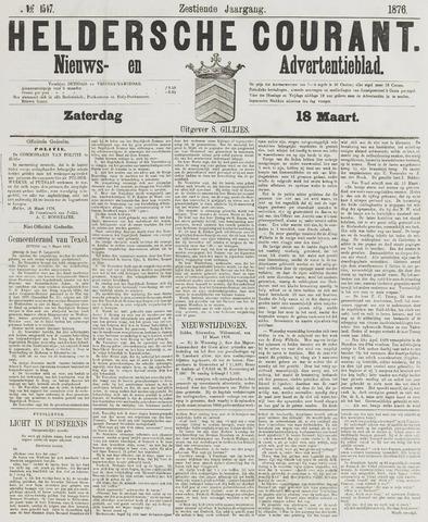 Heldersche Courant 1876-03-18