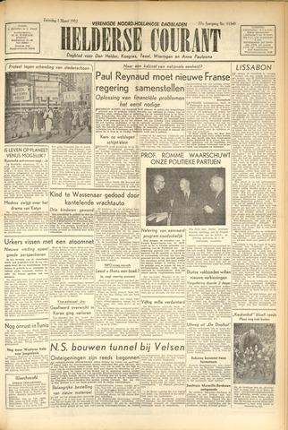 Heldersche Courant 1952-03-01