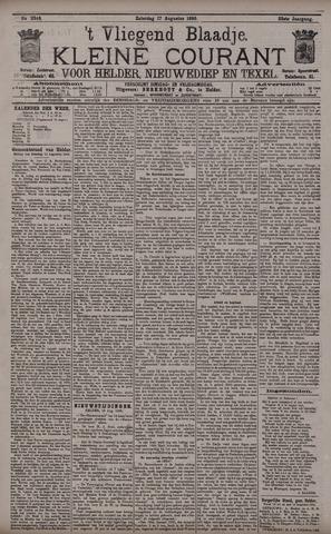 Vliegend blaadje : nieuws- en advertentiebode voor Den Helder 1895-08-17