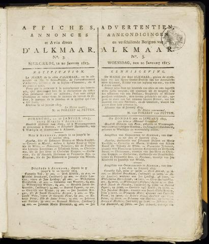 Alkmaarsche Courant 1813-01-20