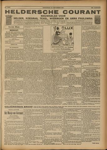 Heldersche Courant 1921-09-22
