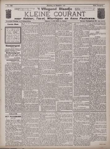 Vliegend blaadje : nieuws- en advertentiebode voor Den Helder 1913-12-13