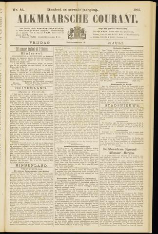 Alkmaarsche Courant 1905-07-21