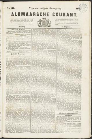 Alkmaarsche Courant 1867-08-04