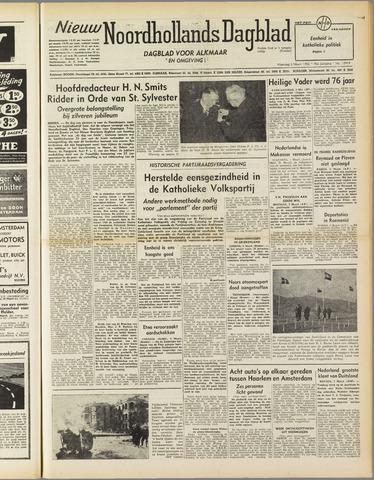 Nieuw Noordhollandsch Dagblad : voor Alkmaar en omgeving 1952-03-03