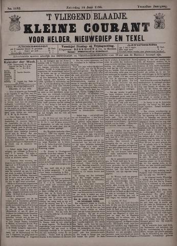 Vliegend blaadje : nieuws- en advertentiebode voor Den Helder 1884-06-14