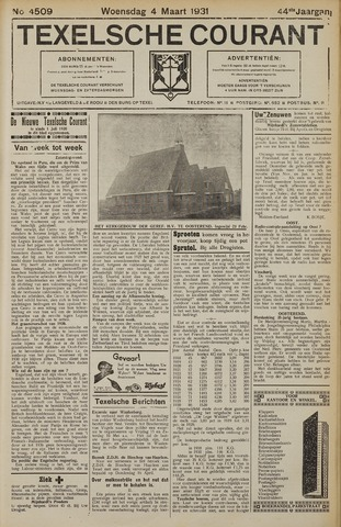 Texelsche Courant 1931-03-04