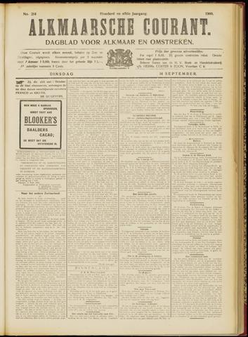 Alkmaarsche Courant 1909-09-14