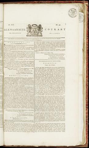 Alkmaarsche Courant 1826-04-03