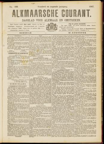 Alkmaarsche Courant 1907-08-13