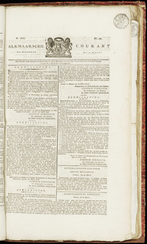 Alkmaarsche Courant 1826-03-20