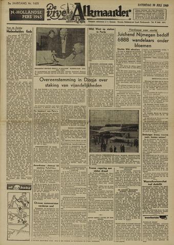 De Vrije Alkmaarder 1949-07-30