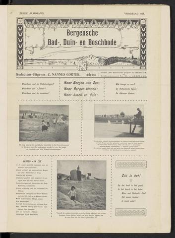 Bergensche bad-, duin- en boschbode 1915