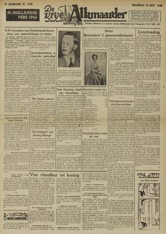 De Vrije Alkmaarder 1948-11-29
