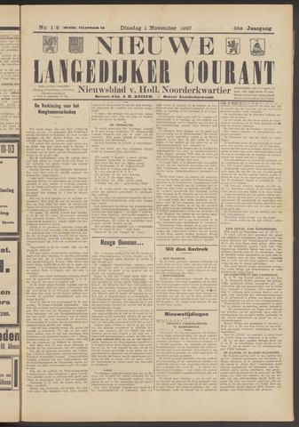 Nieuwe Langedijker Courant 1927-11-01