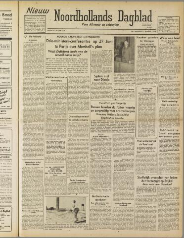 Nieuw Noordhollandsch Dagblad : voor Alkmaar en omgeving 1947-06-23