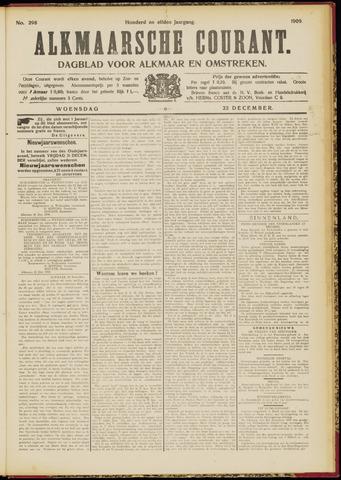 Alkmaarsche Courant 1909-12-22